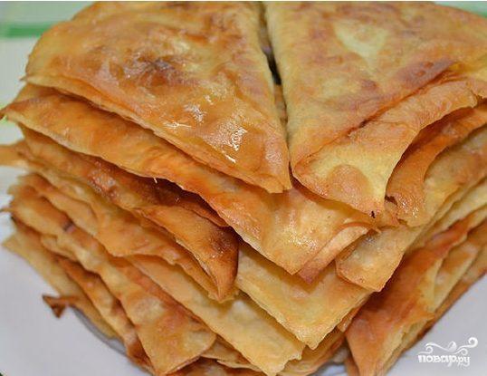 Пирожки из тонкого лаваша