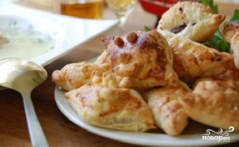 Пирожки с ливером в духовке