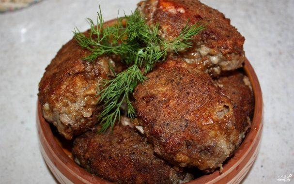 рецепты котлет рубленных из говядины