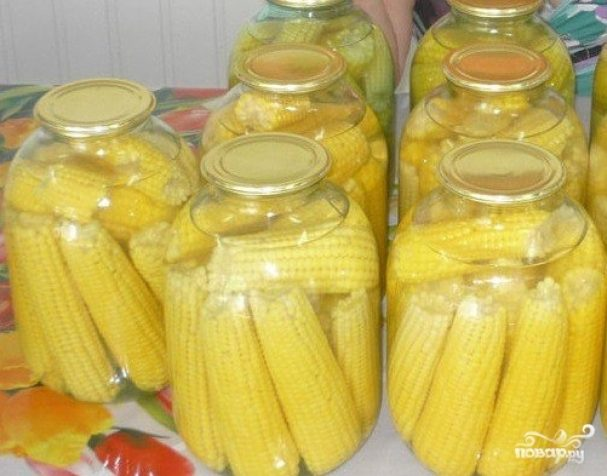 Маринованная кукуруза в домашних условиях