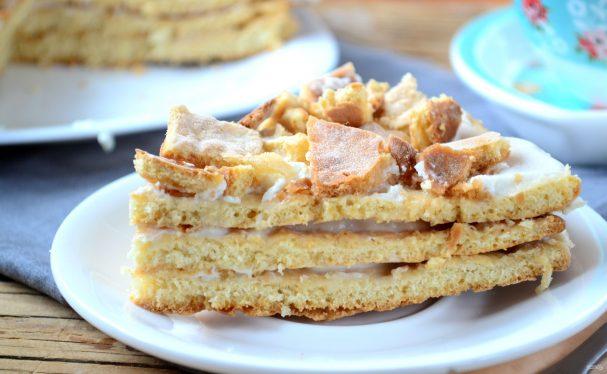 Сметанный торт за 15 минут!