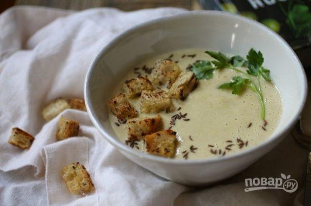 Пивной суп с тмином