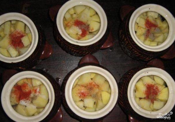 Говядина с грибами и картошкой