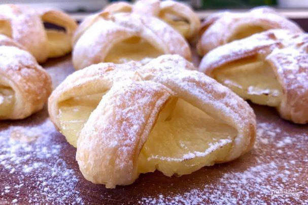 Очень простое печенье с ананасами