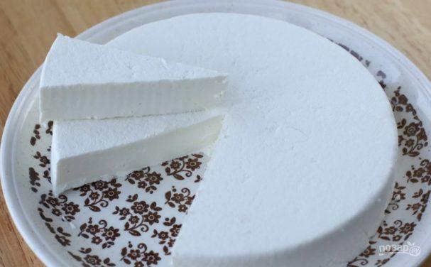 сыр из кефира рецепт с фото пошагово