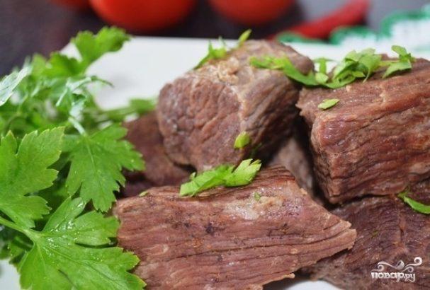 Тушеное мясо в скороварке