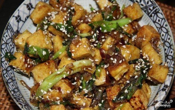 рецепт баклажаны с чесноком и соевым соусом
