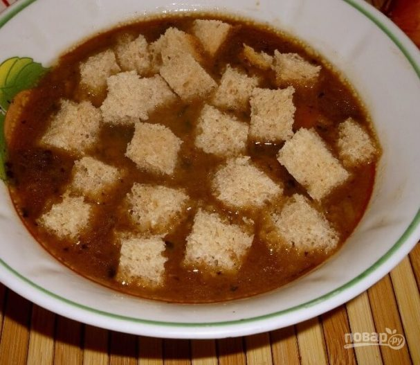 Луковый суп классический
