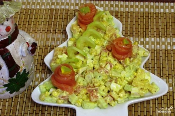 Готовим дома праздничные салаты с и рецептами