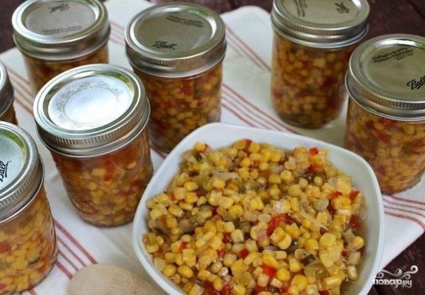 Салат из кукурузы на зиму