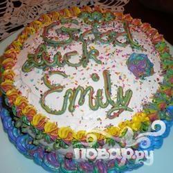 Торт Радужный клоун