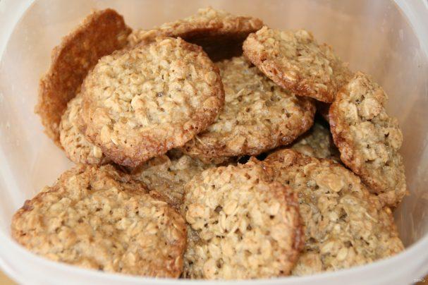Домашние овсяные печенья