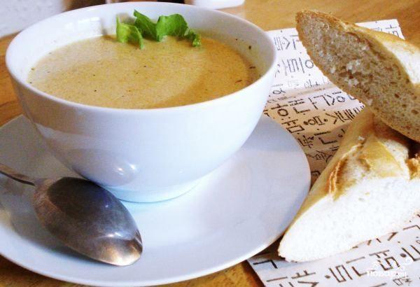 Сливочный луковый суп