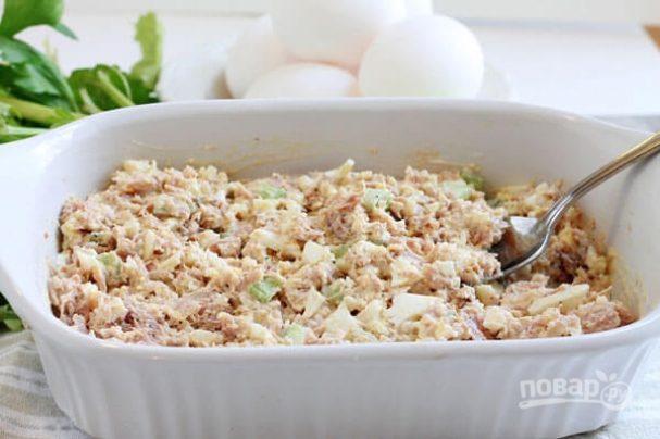 Салат из тунца (рецепт)