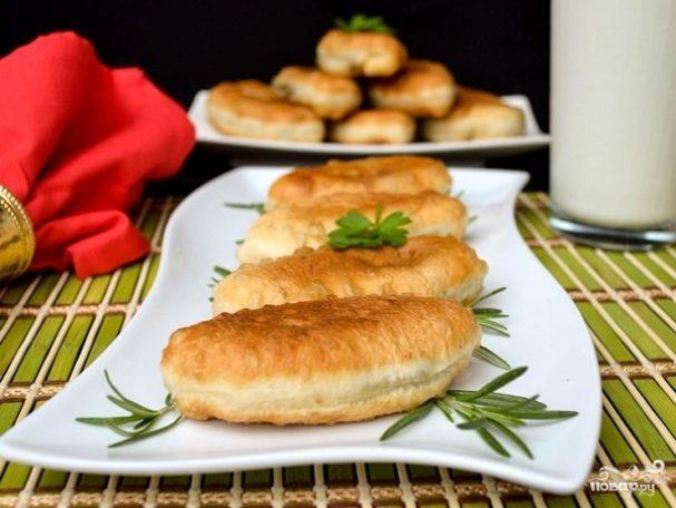 Пирожки с печенью и яйцом