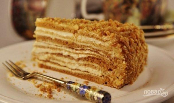 Медовый торт классический
