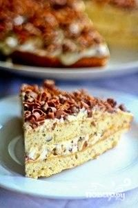Торт Кутузов с фундуком
