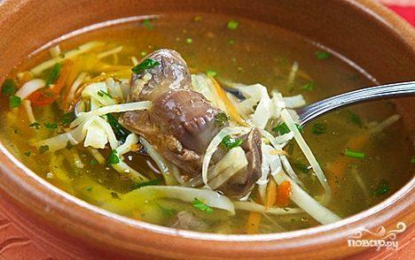 суп потрохами рецепт