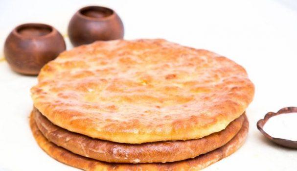 Осетинские пироги на кефире и дрожжах