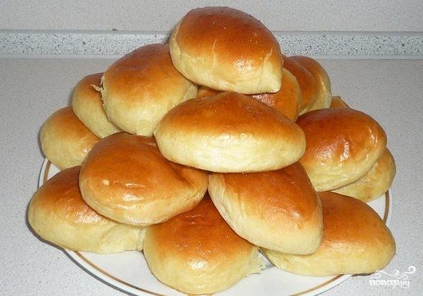 Пирожки из сдобного теста
