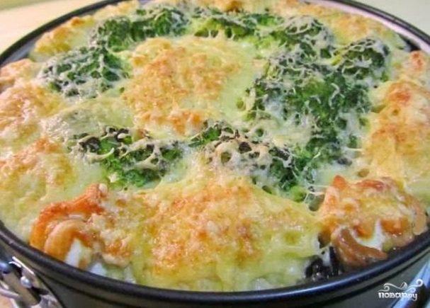 рецепт блюда из цветной капусты и кабачков