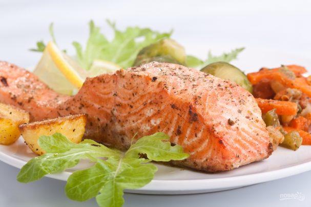Рыба в духовке (простой рецепт)