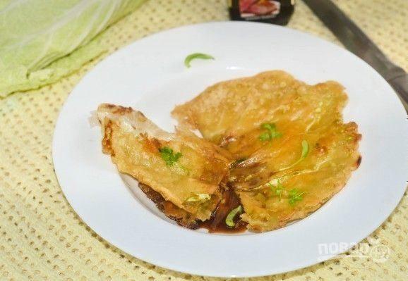 Жареная китайская капуста