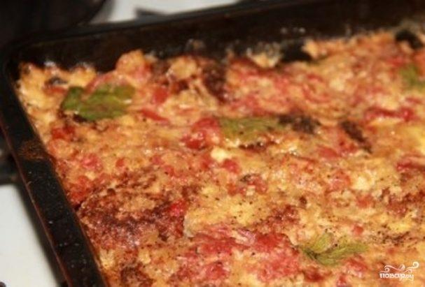 Куриные котлеты в томатном соусе