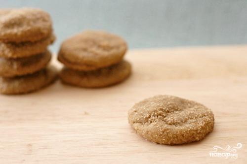 Печенье с коричневым сахаром
