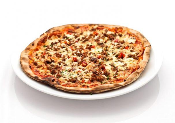 Пицца с говяжьим фаршем