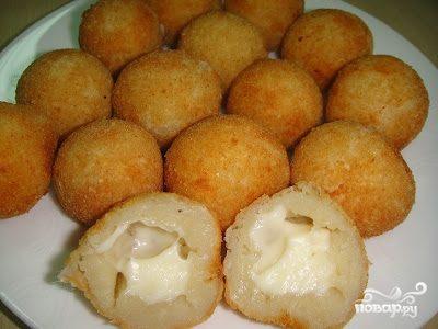Сырные шарики в кляре