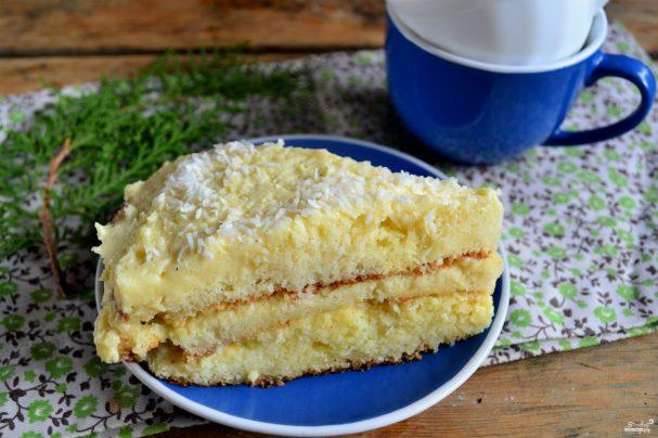 кокосовий торт лучшиє рецепти от повара