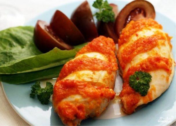 Острый соус для курицы