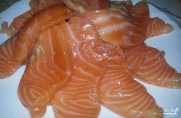 Засолка красной рыбы в домашних условиях рецепт 533