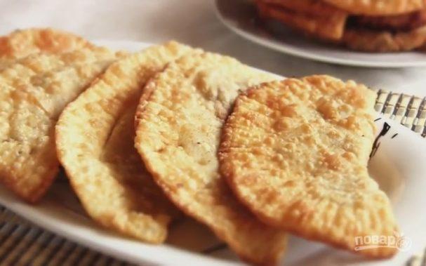 Постные чебуреки рецепт пошаговый