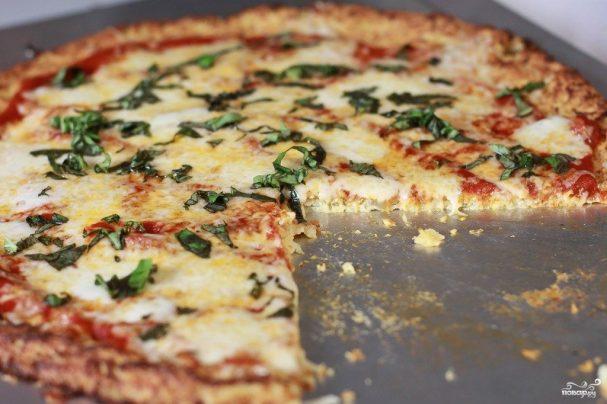 Пицца с сыром в корочке