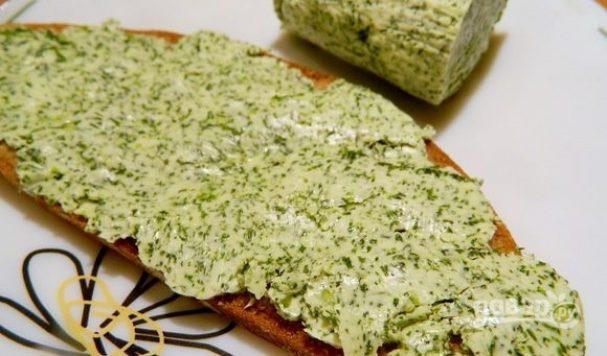 Рецепт чесночного масла сливочного