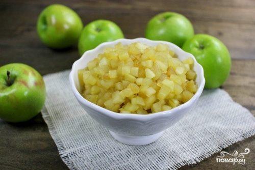 Начинка для блинов из яблок
