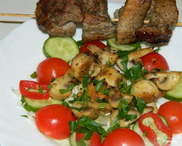 Салат к шашлыкам