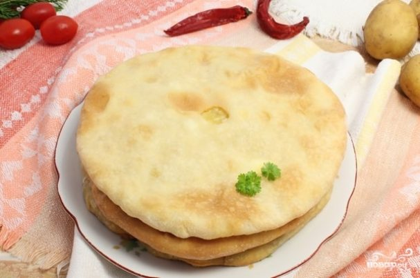 Настоящий осетинский пирог