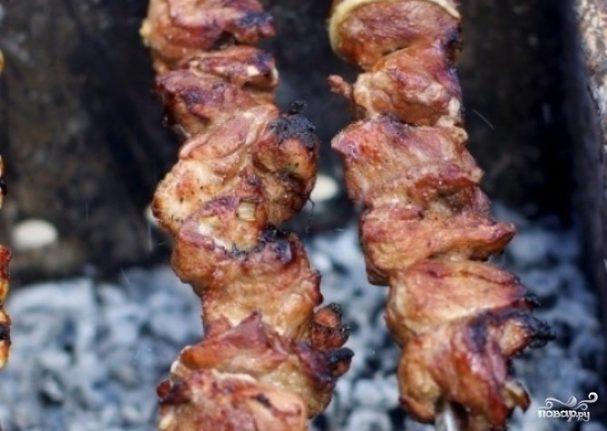Шашлык из баранины по-азербайджански