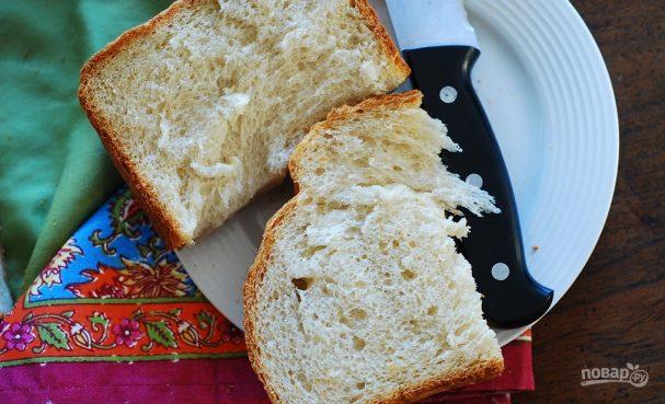 Постный хлеб для хлебопечки