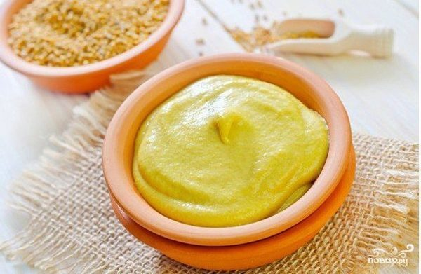 Дижонская горчица (французский рецепт)