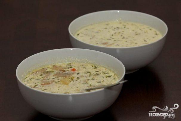 Русский постный суп