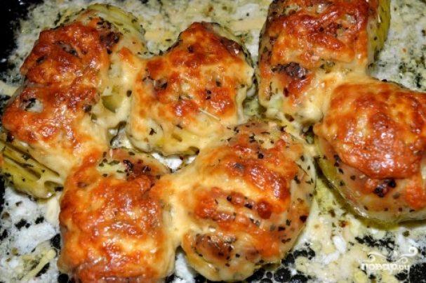 Картошка с сыром в мультиварке