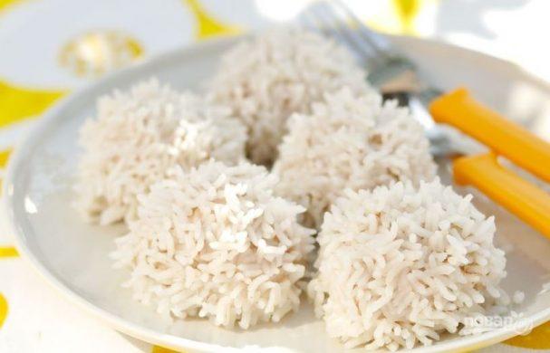 Ежики из фарша с рисом