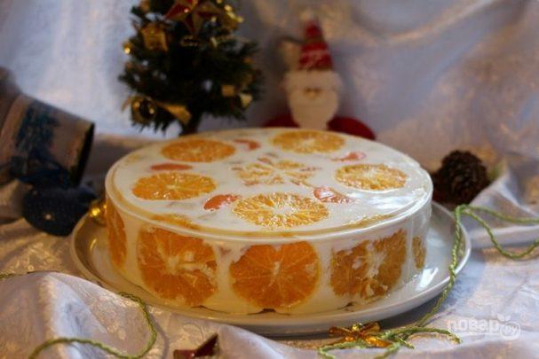 Торт на новогодний корпоратив