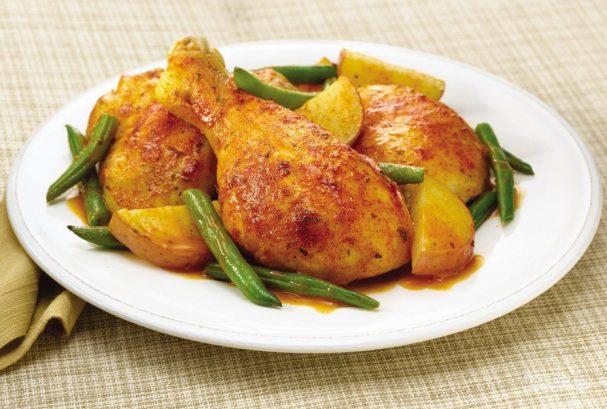 запекание курицы в духовке пошаговый рецепт