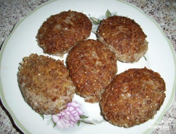 котлеты из гречки с печенью рецепты