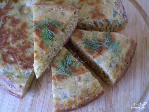 Пирог с капустой для ленивых